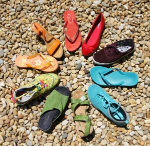 Image shoes in circle community